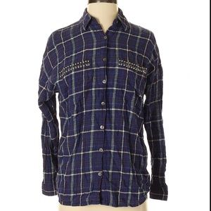 TWO by Vince Camuto Button Down Blouse